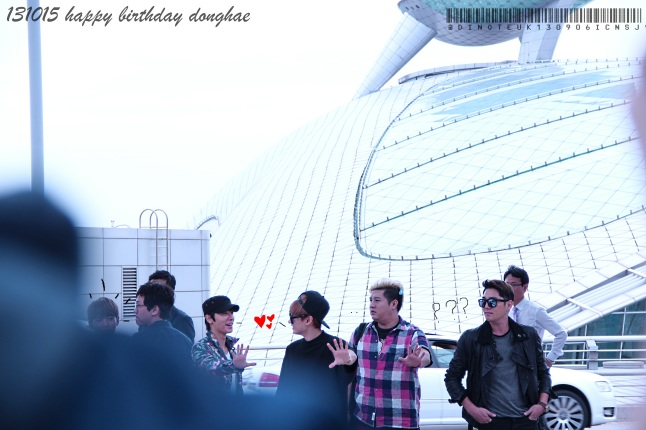 happy bday donghae
